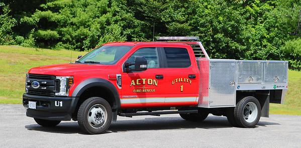 Utility 1 .  2018 Ford F-550 / Alum-Line