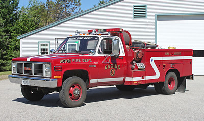 Engine 3 1984 GMC  100 / 150