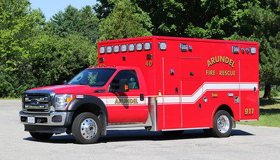 Ambulance 40.  2015 Ford F-450 / Demers