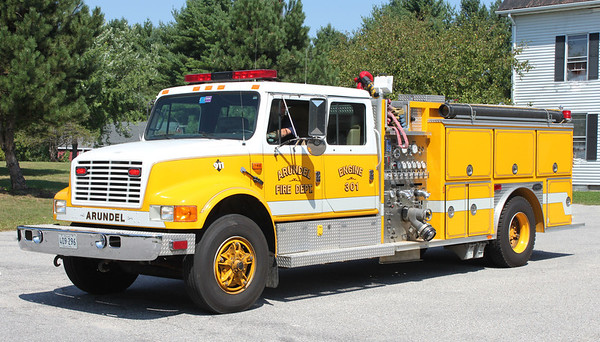 Engine 301 1991 International/E-One 1250/1000