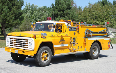 Retired.  Engine 302.  1973 Ford / Howe.  500 / 500