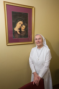 Sister Germana at Dauer Museum