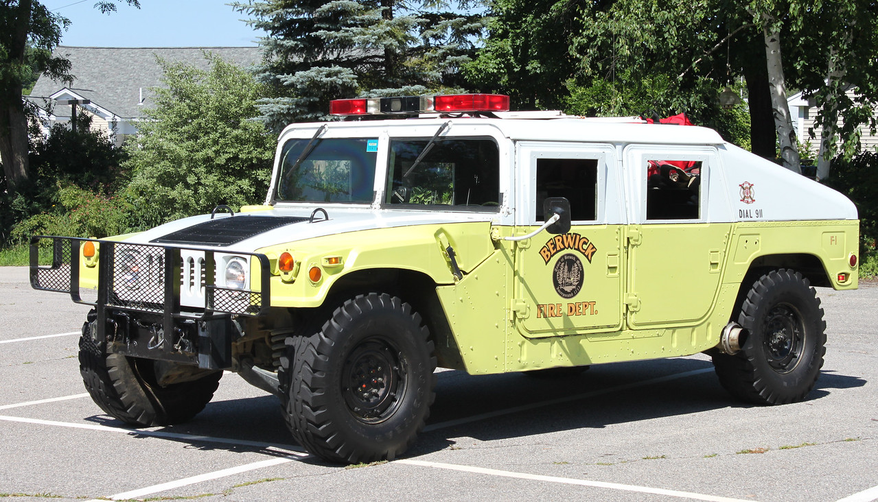 RETIRED  Forestry   1986 Humvee   200 gallons