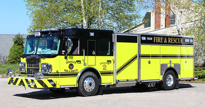 Engine 2.  2017 Spartan Metro Star / Toyne.  1500 / 1200