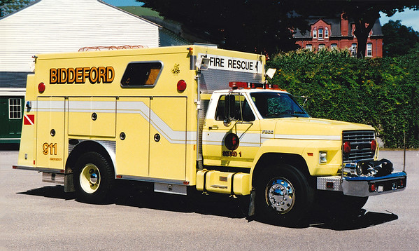 Retired Squad 1.  1988 Ford / E-One
