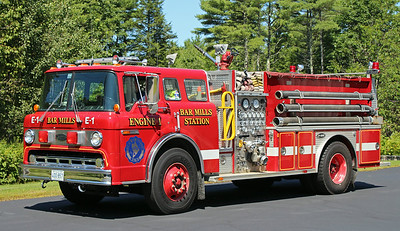 Retired Engine 1   1988 Ford / E-One   1000 / 1000