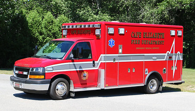 Ambulance 1.   GMC / Horton