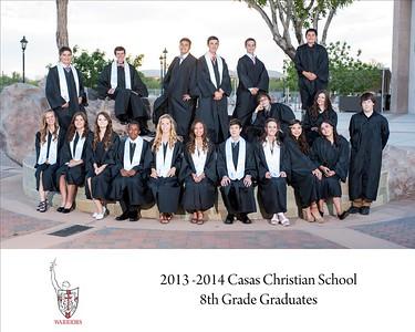 Casas 8th Grade Graduation 2014