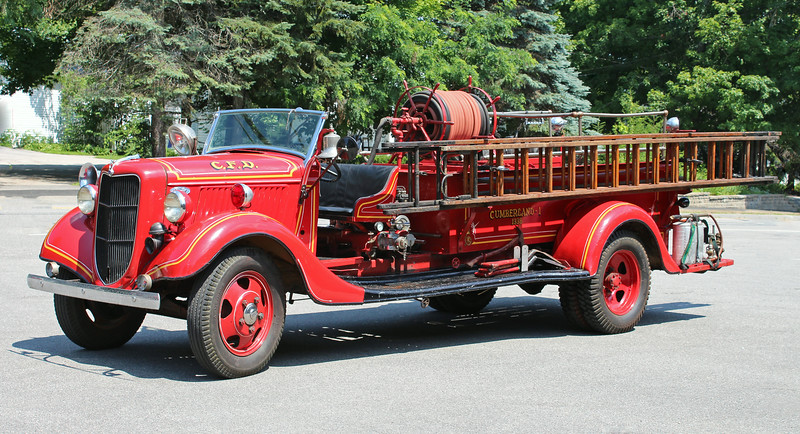 Retired  Engine 1 1936 Ford