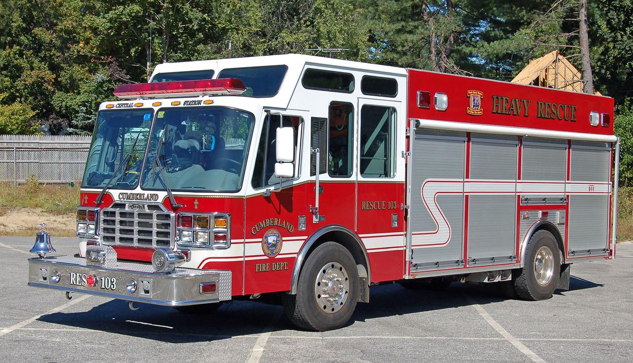 Rescue 103  2002 Ferrara Heavy Rescue