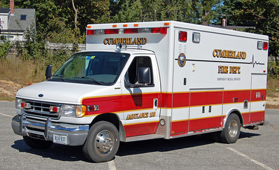 Retired  Ambulance 108   1999 Ford/AEV