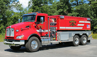 Tanker 1 2012 Kenworth / Fouts Brothers 750 / 3000