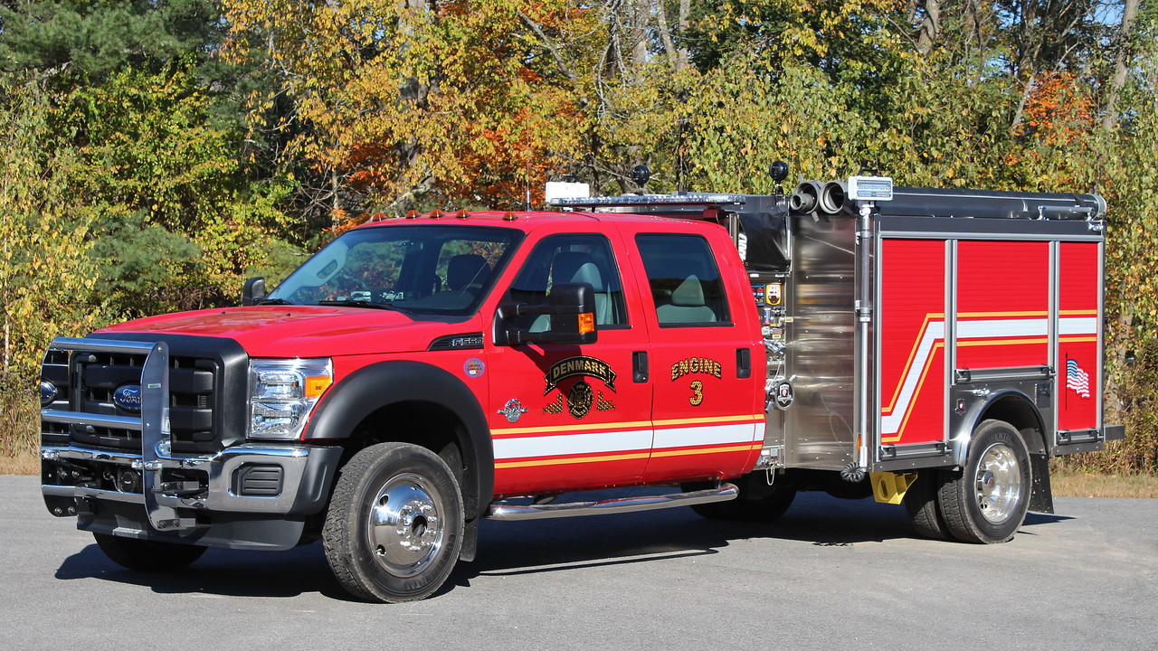 Engine 3 2014 Ford F-550 / HME Ahrens Fox 1500 / 400