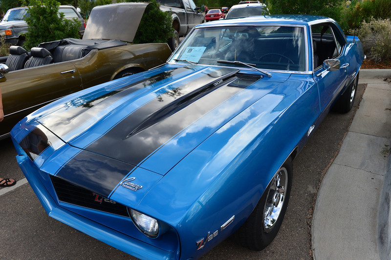 A 1969 Camero represents the start of the Muscle Car Era.
