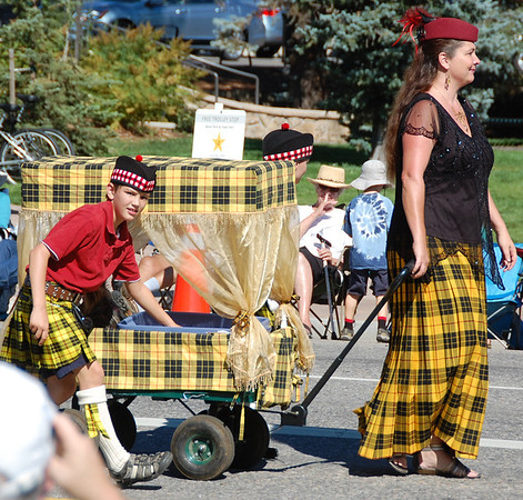 The annual Longs Peak Scottish/Irish Highland Festival Parade is a time for clans to gather.