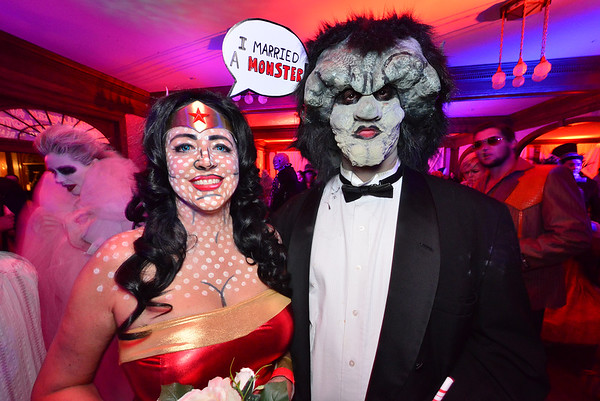 29EPLPht Super Beauty and a beast.jpg Beauty and the beast take on a new look at the Stanley Hotel Shining Ball.