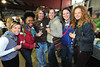 "Smiling revelers enjoy beer tasting at the festival. Visitors were treated to beer tasting, wine, cheese, chili and ""Mac and Cheese."""