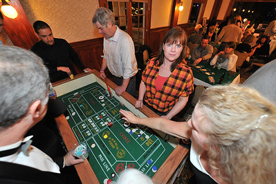 A surprising amont of fun was had at the craps table on Saturday night. What was not a surprise was that the annual Casino Night raised money for the Bobcat Athletic Club, or BAC'ers.