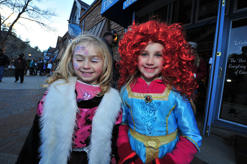 Princesses made their usual strong showing on Thursday night as Estes Park celebrated their alter-egos.