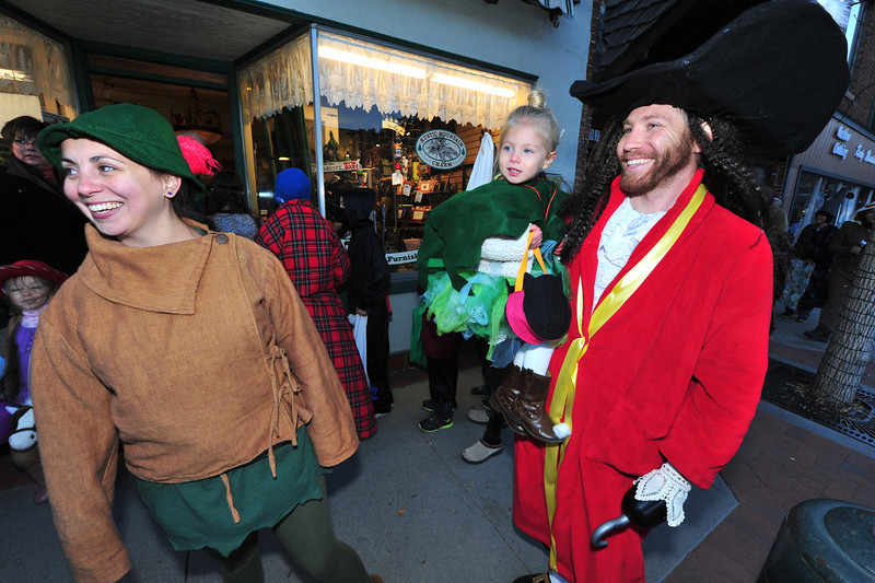The Fortini family takes on the Peter Pan charecters on Thursday.