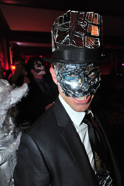 A new sorty of shining smile at the Stanley Hotel's Shining Ball. The event rewarded originality.