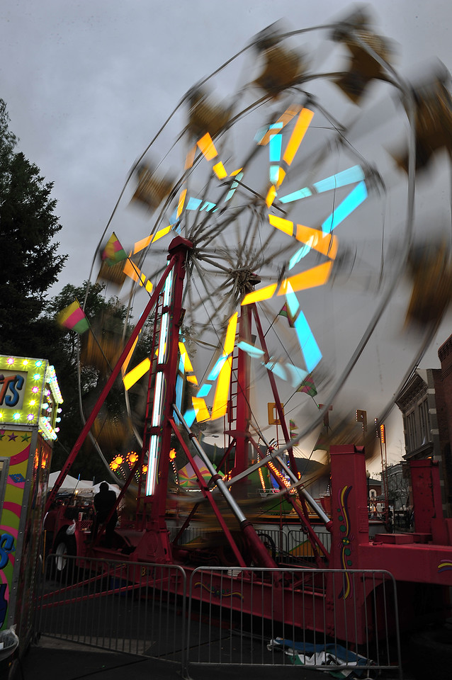 In Salida, riders were treated to the second carnival of the ride. Salida was already hosting their annual FIBArk whitewater festival, the oldest such festival in America, when riders arrived on Thursday, June 13.