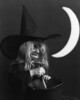 Three-year old Chantry, daughter of Moses Street, was photographed as a witch as a promotion for the first ever downtown Halloween in Estes Park in the early 1980s.