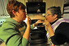 Kendra and Barb test the final product. What fun is cooking for a party if you don't test, or taste, your work?