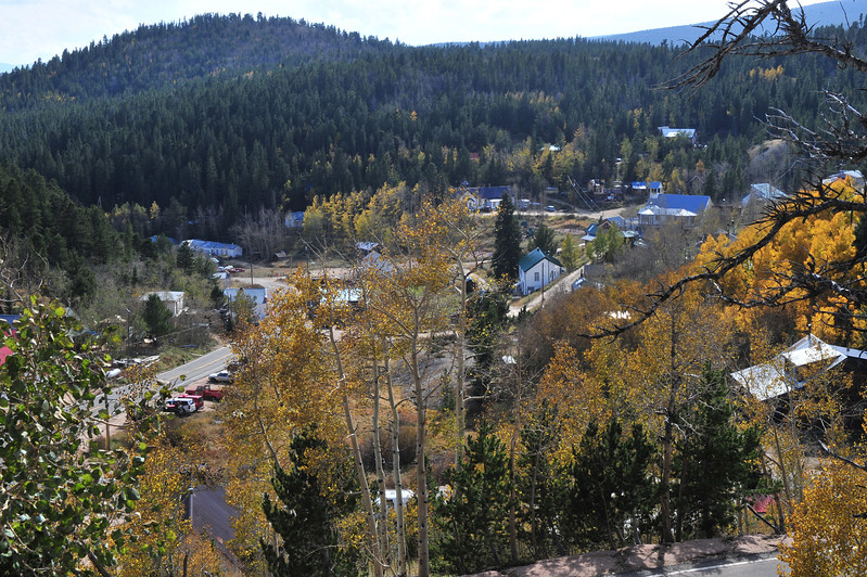 The view into the funky little town of Ward. Ward sits at the top of Lefthand Canyon about 36 miles south of Estes Park.
