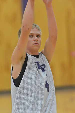 23EPBobcats Marshall.jpg Taylor Marshall works freethrows on Monday. Marshall quietly leads the 'Cats in fundamentals.