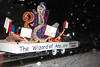"30ep glow wizard of answers.jpg The Estes Valley LIbrary float in the 2011 Catch the Glow parade carried the ""Wizard of Answers."""