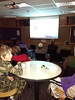 The Estes Valley Library hosted an election night party where citizens could watch the election returns on the library's big screen.