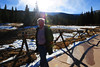 Bernard Johnston of Lafayette, Colo. walks through Hidden Valley on Tuesday. Rocky Mountain National Park reported a rise in visitor numbers for last month.