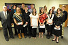 Walt Hester | Trail Gazette<br /> David Gamble, Rebecca Johnson, Forrest Shafer, David Mills, TJ Hall, Kaylee Eshelman, Megan Kossuth, Evelyn Bangs, Carmen Butler, Joshua Hess, Kassi Fisher and Cole Woodard received scholarships from the Noon Rotary Club.
