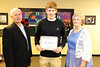Walt Hester | Trail Gazette<br /> Cole Woodard received the Allenspark Community Theater Scholarship.