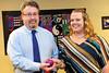 Walt Hester   Trail Gazette<br /> Rebecca Johnson received the Estes Park Education Association Scholarship.