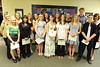 Walt Hester | Trail Gazette<br /> Hanna Steadman, Jesse O'Dell, Michelle McQuinn, Stephanie Woolman, Megan Kossuth, Alexandra Hansen, Claire Molle, Erin Diedrich, Hannah Schweitzer, Kaylee Eshelman, Faith Weibel, Madeline Wilson, ______________, and Will Casey received the Etes Valley Sunrise Rotary Scholarship.