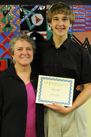 Walt Hester | Trail Gazette<br /> Sean Cody received the Daniels Scholarship.