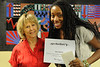 Walt Hester | Trail Gazette<br /> Nia Smith received the Harmony Foundation Scholarship