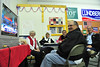 09EPCEar GOP Party.jpg Estes Park's GOP faithful stay up-beat at local party headquarters as early returns roll in on Election Night. After billions of dollars and hours of negetive ads, today's federal government looks about the same as it did Tuesday morning.