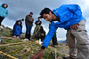 Walt Hester | Trail-Gazette<br /> Vinamra Mathur, an intern at Clorado State University, helps catalogue plants, animals and fugi on the Alpine tundra on Friday. Teams of researchers and students of all ages scatterd throughout the national park to inventory all the living things possible inside of 24 hours.