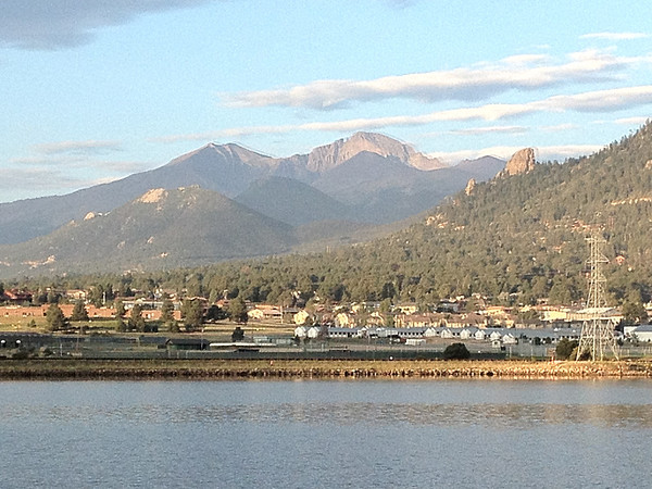 A mix of sun and clouds creates dramatic light across Estes Park on Monday. Estes Park can expect more sun than clouds early, though clouds will collect again bring with them a chance of isolated showers. The high is expected to be near 83.