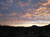Sunrise splashes across the sky on Tuesday. Another warm day ahead for Estes Park, high near 85, while clouds and rain could roll in later in the after noon.