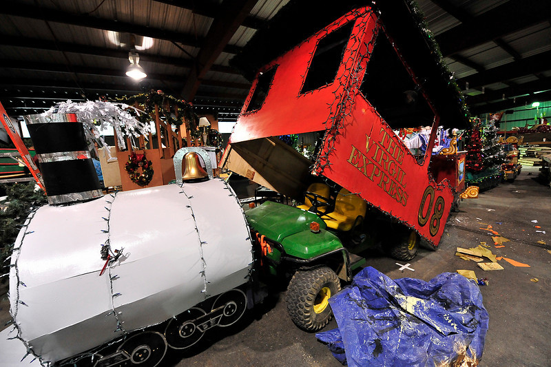 Walt Hester | Trail-Gazette<br /> The Virgil Express has grown since last year, with a larger engine and bigger cars.