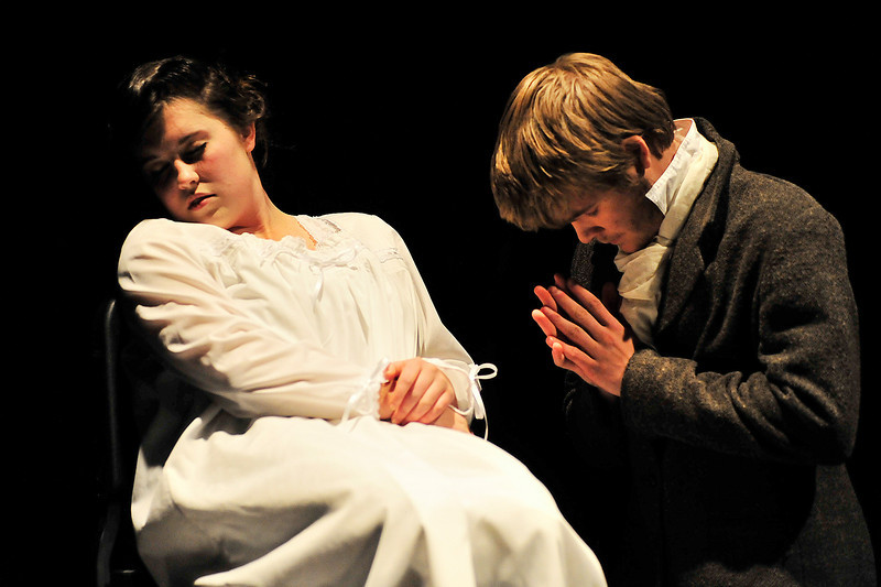Walt Hester | Trail-Gazette<br /> As Fantine dies, Valjean promises to watch over Fantines illigitimate daughter, Cosette. The moment put in motion the events of the rest of Victor Hugo's classic tale.
