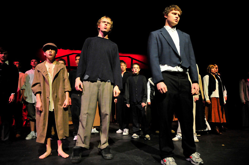 Walt Hester | Trail-Gazette<br /> The idealistic students and Paris' poor prepare for the doomed June Rebellion of 1832. The book and musical are based on historic events and at least mention real historic figures.