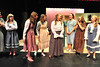 The towns girls are giddy for Milly in Seven Brides for Seven Brothers. The play, which runs this weekend at the Estes Park High School, tells the story of Milly and her new, mountainman husband who is one of seven brothers.