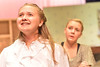 Milly Bradon, played by Stephanie Soliday, seems a bit too dreamy for Mrs. Hoallum, Ashlyn Johnson. Seven Brides for Seven Brothrs runs Friday and Saturday evenings at the Estes Park High School beginning at 7 p.m.