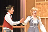 Mr. and Mrs. Sander played by Austin Park and Ellen Westover, dance through their little town in Seven Brides for Seven Brothers. The production, which is staged this weekend by the Estes Park High School, is known for choriography that includes dancing through a barn-raising.