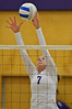 12EP VB Scheil blocks.jpg Walt Hester | Trail-Gazette<br /> Ali Scheil elevates for a block against Community Christian on Thursday. Scheil displayed hitting that seemed unstoppable at times.